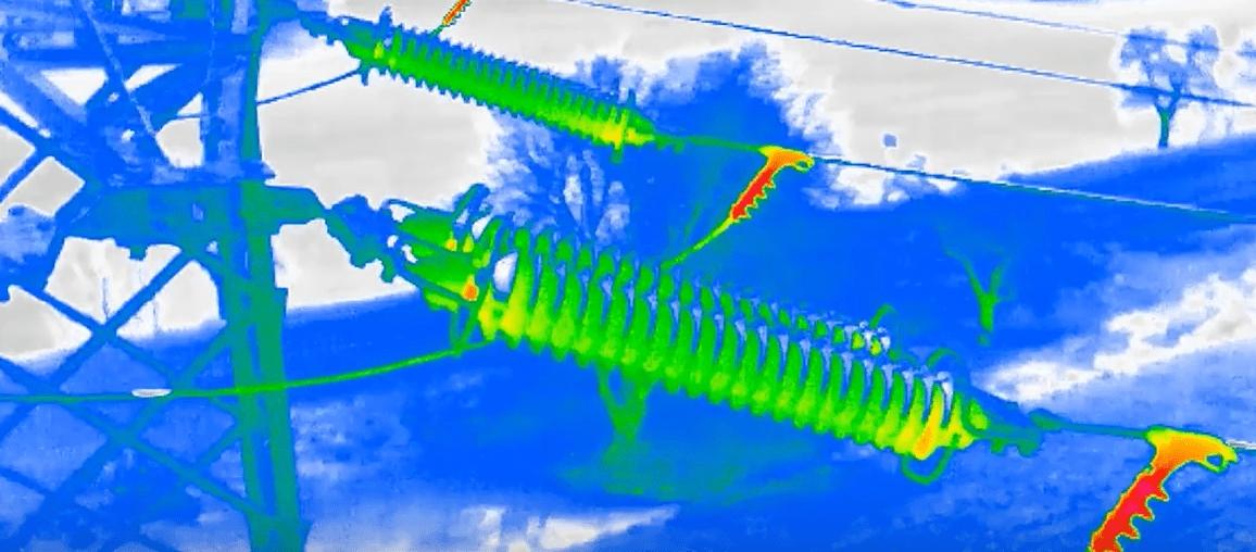 termografia aerea con droni