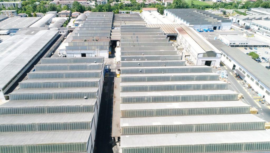 ispezione tetti con droni