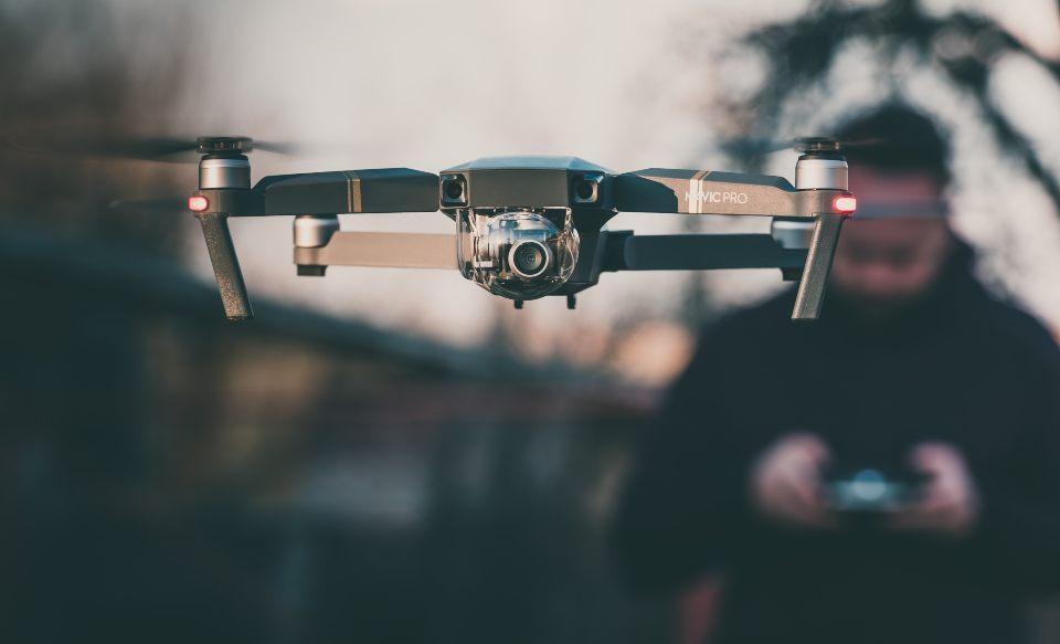riprese aeree con drone unveiling shot