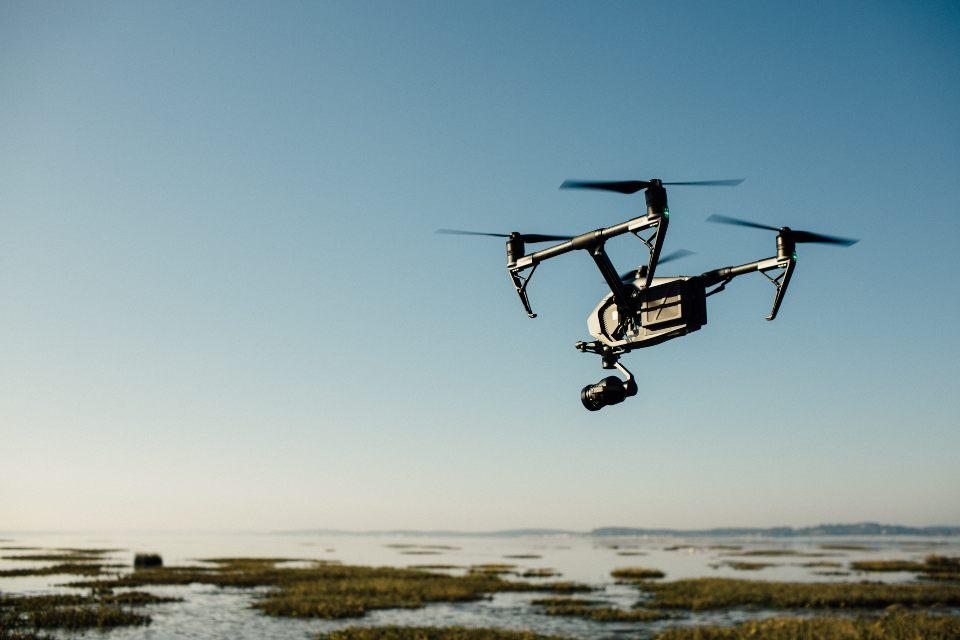 riprese con drone panoramica