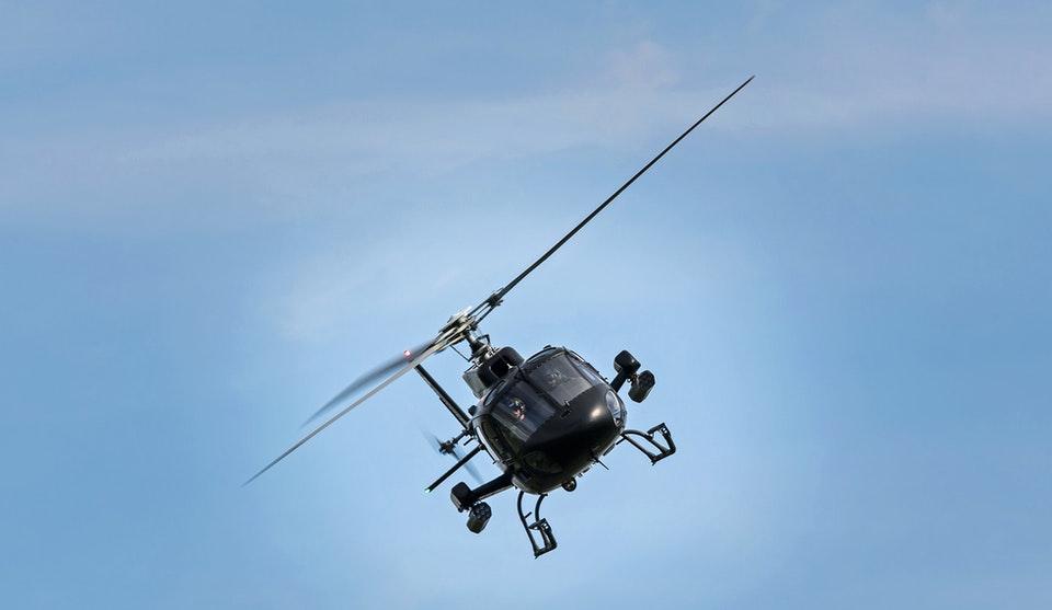 drone vs elicottero per rilevamenti termografici
